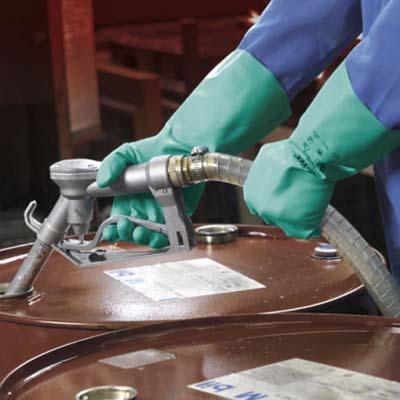 Chemikalienbeständige handschuhe